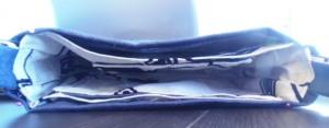 tutorial torebka - przed zszyciem