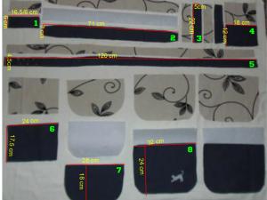 tutorial torebka wymiary