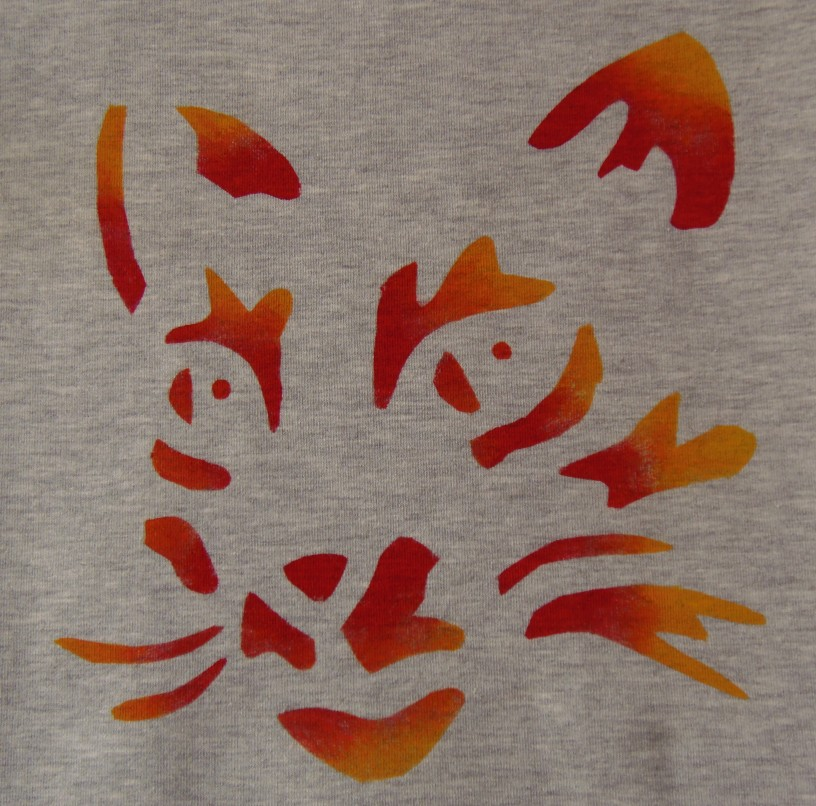 hand painted sweatshirt