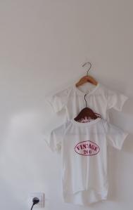 Koszulka letnia, ręcznie malowana
