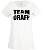 team graff 01 white t-shirt