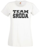 team sroda 01 white t-shirt