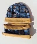 dwustronny komplet dziecięcy czapka i komin